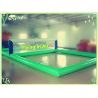 G-20 Green PVC Inflatable Water Volleyball Court For Party And Entertainment Game