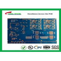 Buy cheap Blue Solder Mask 14 Layer GPS Circuit Board FR4 TG180 10 BGA PCB product