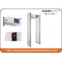 Buy cheap Gray 6 Zones Walk Through Security Scanners With Led Indicator On Both Side product