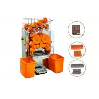 Buy cheap Auto Feed Orange Lemon Squeezer Portable With 22 - 25 Oranges Per Mins from wholesalers