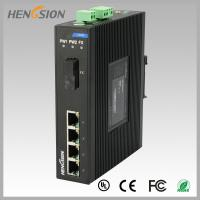 Buy cheap 1.2Mpps Fiber Optical Network Switch , Din Rail Installed Outdoor Ethernet Switch product