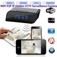 Buy cheap T8S 720P Alarm Clock WIFI P2P IP Spy Hidden Camera Home Security CCTV Surveillance DVR with Android/iOS App Control product