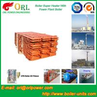 Buy cheap 100 Ton Power Station Boiler Super Heater Convection Heat Insulation product