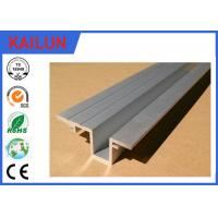 Buy cheap Elevator / Car Aluminum Door Threshold Extension , Aluminium Sliding Door Tracks product