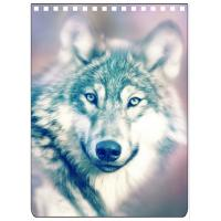 Buy cheap Custom A4 A5 A6 Wolf Images 3D Lenticular Cover With PET / PP Friendly Material from wholesalers