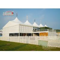 Buy cheap 20x30m Outdoor	High Peak Tents  With Double Decker For 500 People Event Function product