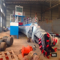 Buy cheap 20inch discharge port,14m Digging Depth,22m Length,800Kw River Dredger Machine Manufacturer product