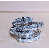 Buy cheap Women's Unique 18K White Gold With Diamond Ring Customization Available product