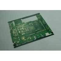 Custom Green HAL Printed Multi Layer PCB Boards for High End Electronic 8 Layers 0.7mm