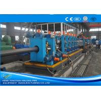Buy cheap Heavy Duty ERW Pipe Mill Machine Worm Gearing Rectangular 165 * 6mm Pipe Size product