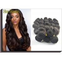 China Body Wave Virgin Human Hair Extensions For Black Girls Can Ben Restyled wholesale