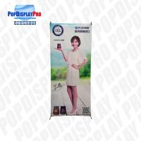 Buy cheap Wood Cardboard Display Stand X Banner Promotion Standee Character product