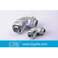 Buy cheap Zinc 90 Degree Liquid Tight Angle Connector Link Pipe product