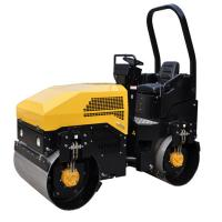 Buy cheap 3T Driver Mini Roller Compactor Perkins Engine Poclain Motor And Sauer Pump 1.5ton product