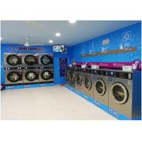 China Anti Corrosion Commercial Laundry Washing Machine 7.5 Kw Motor Power Durable on sale
