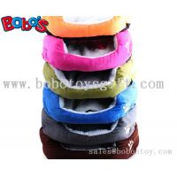Buy cheap Colorful Warm Plush Material Pet Bed Puppy Dot Cat Bed With Paw Embroidery product