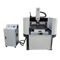 Quality CNC Aluminum Carving Machine with Oil Mist Cooling/Yaskawa Servo Motor/DSP Offline Control for sale