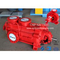 Buy cheap Firefighting Electric Motor Driven Pump 750GPM@90m Ductile Cast Iron Materials product
