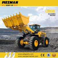China SDLG LG958 wheel loader with ZF GEARBOX on sale
