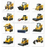 Jining Wolwa GNLC100 1.5t Track Skid Steer Loader for Sale