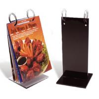Quality Fashionable Custom Acrylic Menu Holders With Excellent Service for sale