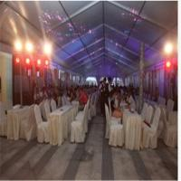 Buy cheap Aluminum Frame PVC Canvas Prefabricated Wedding Banquet House (ML-169) Lighting Roof house product