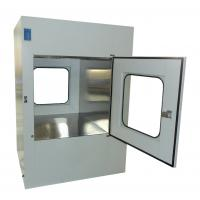 Buy cheap Microelectronics Clean Room Air Shower Pass Box External Size 950X1100X1300mm product