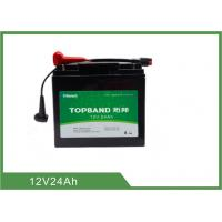Buy cheap Batterie au lithium intelligente de chariot à golf, long cycle 12 volts chargeant les batteries Lifepo4 product