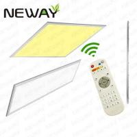 Buy cheap 40W 1200x150 Wireless Remote Control LED Panel Light Dimmable product