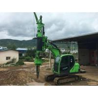 Buy cheap Construction Stratum Bored pile rig machine , pile driving machinery from wholesalers