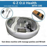 Buy cheap foot spa ion detox machine with T.E.N.S patches improves healthy cell regeneration from wholesalers