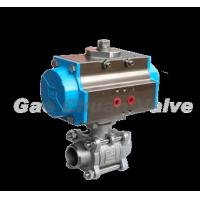 Buy cheap Three pneumatic types weld the ball valve product