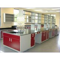 China All Steel Lab Bench(Sidelined & Central) on sale