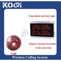 Buy cheap 315.75MHZ Wireless Paging System for Coffee Shop product