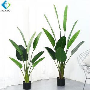 Buy cheap Palm Banana Artificial Bonsai Plants 5-10 Years Life Time Customized Design product