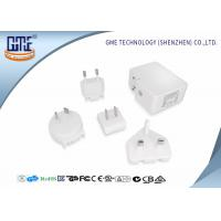China 5V Wall Mount Power Plug Adapter  4.8A Wall Charger with Dual USB Charging Ports wholesale