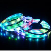 China 14.4w /m Colorful SMD Led Lighting Strips Ip65 18lm /Led , Size L5000*W8mm on sale