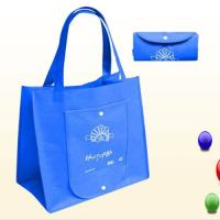 Buy cheap Reusable Custom Tote Bags With Logoand Pockets , Heat Transfer Non - woven Shopping Bag product