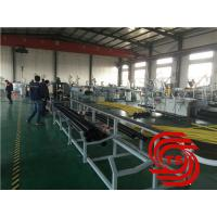 Buy cheap HDPE Pipe Extrusion Line / Extruder Machine Vacuum Forming With 40mm-110mm Dia product