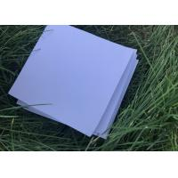 Quality Rigid White House Insulation Foam Board , Photo Mounting Hard Foam Sheets for sale