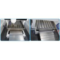 Cast iron T slot working table and Elastic stainless steel Y-axis dust proof