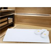 Buy cheap White Color Modern Hotel Bath Mats For Bathroom Area Microfiber Material product