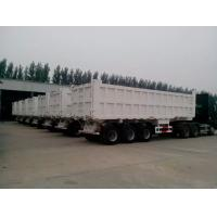 Buy cheap 2 / 3 Axles 60T Playload Semi Dump Trailer Truck For Transport Coal Colorful product