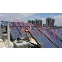 China CE Flat Plate Solar Collector For Hotel Heating System , Copper Pipe Solar Heat Collector on sale