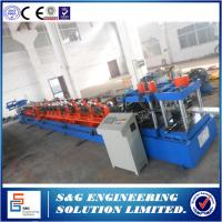 C-shaped Purlin Roll Forming Machine, Factory Supply C Purlin Roll Forming Machine for Sale