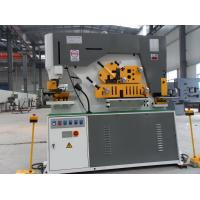 Buy cheap NFL Q35Y Series 300 tons universal ironworker, universal ironworker product