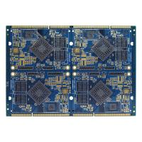 Buy cheap FR4 Electronics Air Conditioner Part PCB Multilayer Board Blue Soldermask product