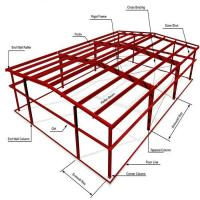 Buy cheap ASTM Warehouse Steel Structure / Prefab Steel Workshop With Free Design product