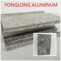 Buy cheap Marble Texture Aluminium Kitchen Profile Annealing Treatment T1 T4 T5 product