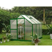 Buy cheap Small 4mm UV Twin-wall Portable Gardening Polycarbonate Greenhouses 6' X 6' product
